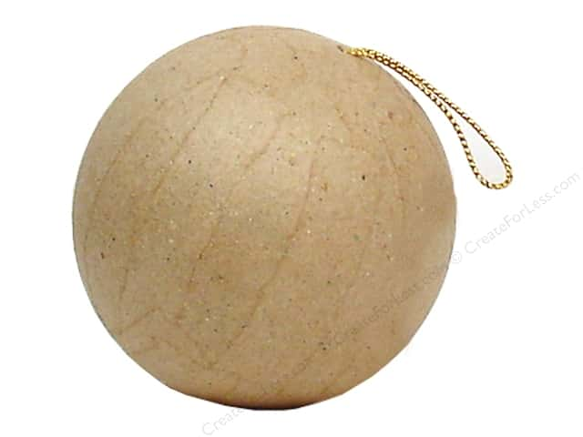 PA Paper Mache Mini Ornament Ball 2 1/2 in.