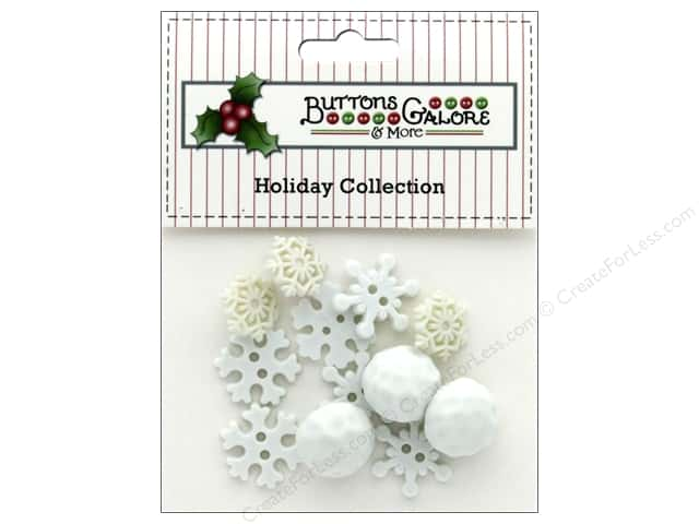 Buttons Galore Theme Button Holiday Snowball Fight