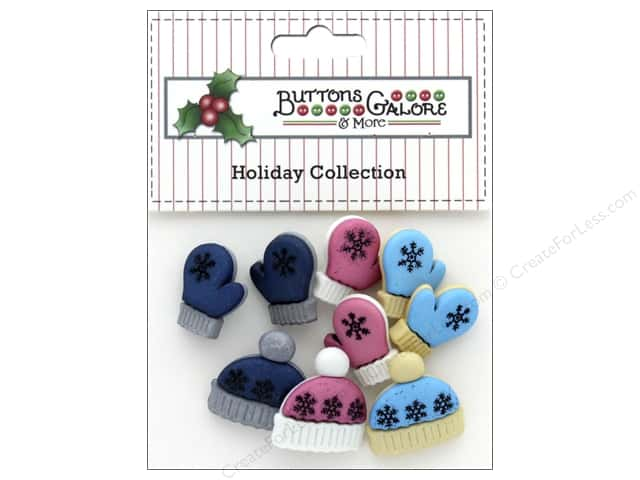 Buttons Galore Theme Button Holiday Winter Woolies