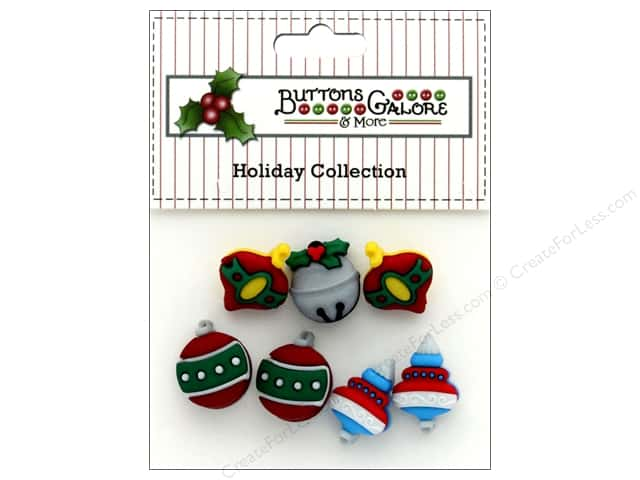 Buttons Galore Theme Button Holiday Tree Trimmers