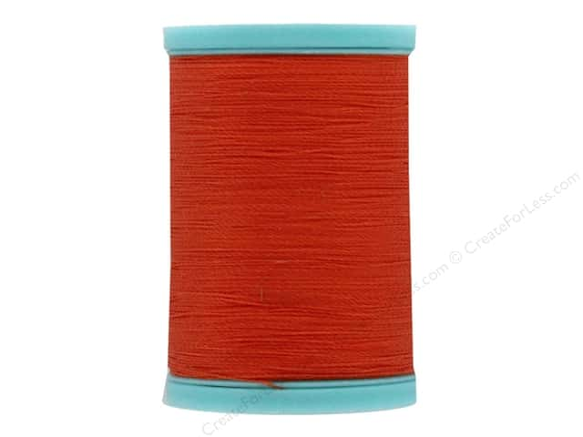 Coats & Clark Eloflex Stretchable Thread Orange 225yd