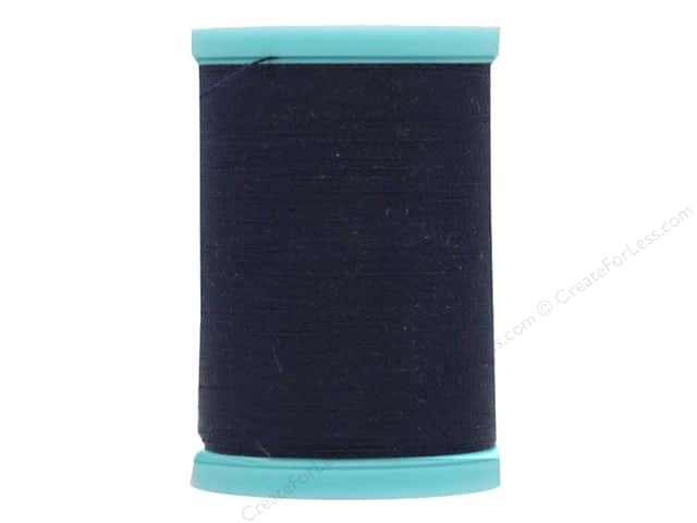 Coats & Clark Eloflex Stretchable Thread Navy 225yd