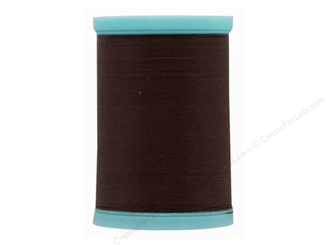 Coats & Clark Eloflex Stretchable Thread Dark Brown 225yd