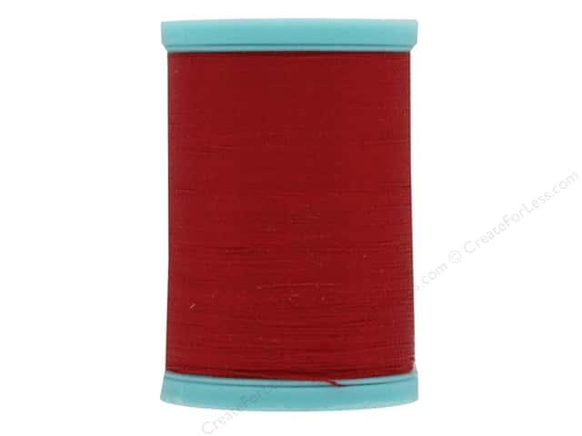Coats & Clark Eloflex Stretchable Thread Atom Red 225yd