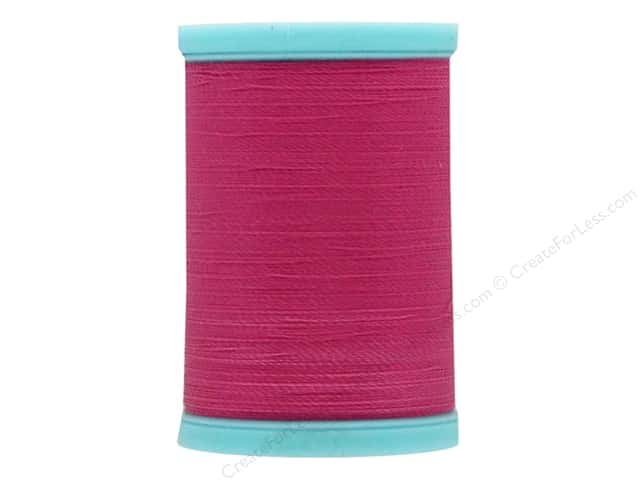 Coats & Clark Eloflex Stretchable Thread Hot Pink 225yd