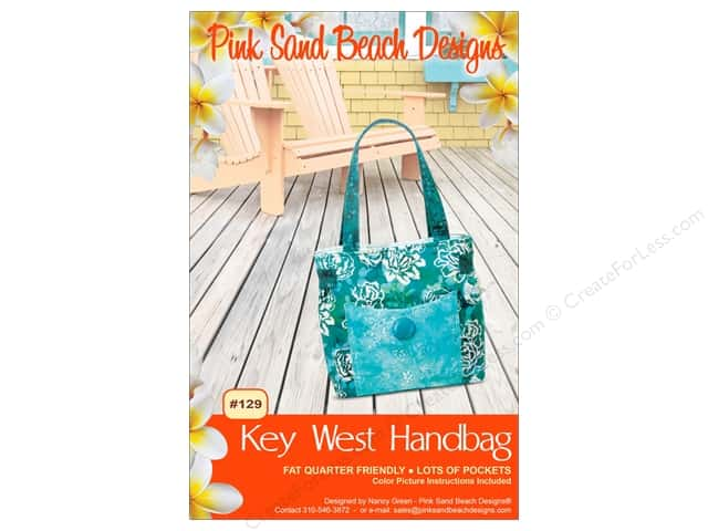 Pink Sand Beach Designs Key West Handbag Pattern