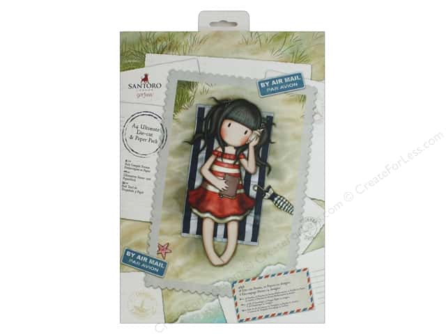 Docrafts Santoro Gorjuss Ultimate A4 Die Cut & Paper Pack