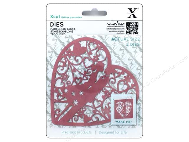 Docrafts Xcut Die Couple In Heart 2pc