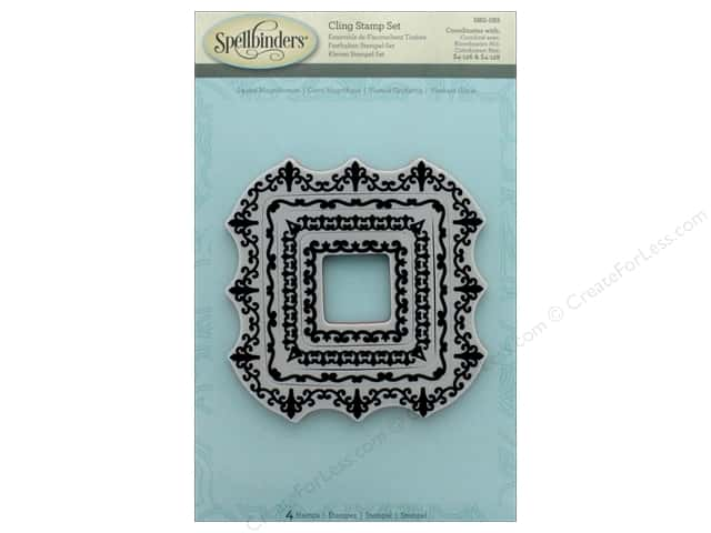 Spellbinders Stamp Square Magnificence