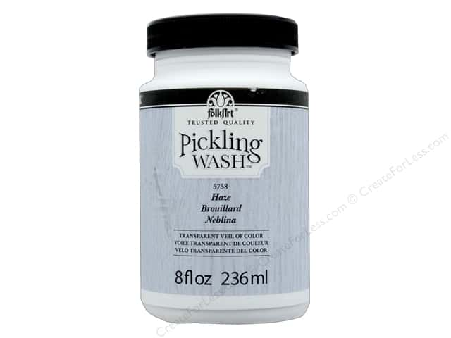 Plaid Folkart Pickling Wash 8 oz. Haze