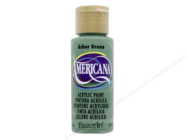 DecoArt Americana Acrylic Paint 2 oz. #209 Arbor Green