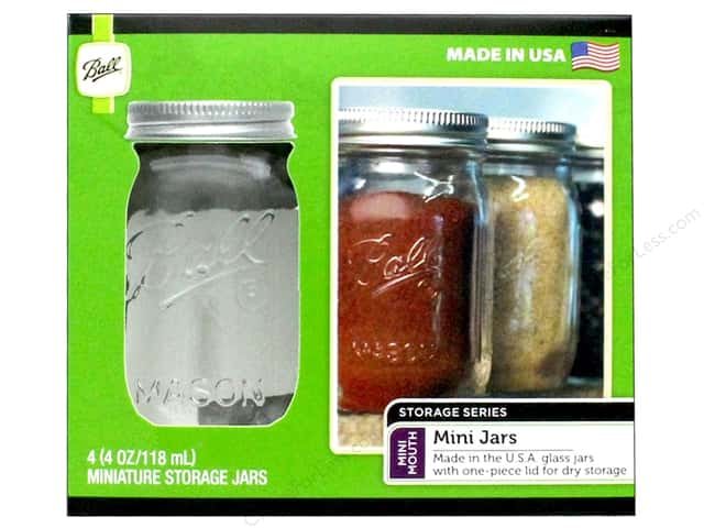 Ball Jar Mini 4oz 4pc