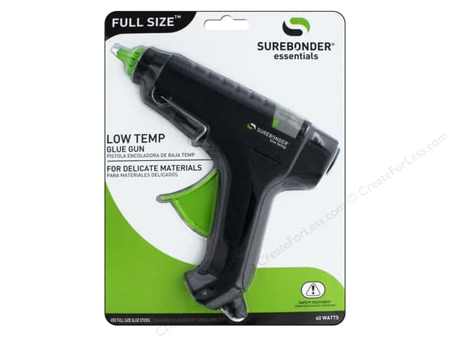Surebonder Glue Gun Full Size Low Temp 40 Watt