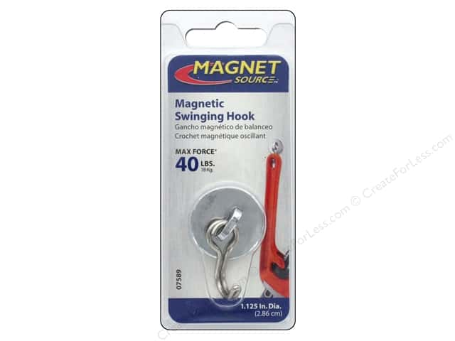 The Magnet Source Swinging Magnetic Hook 1 pc.