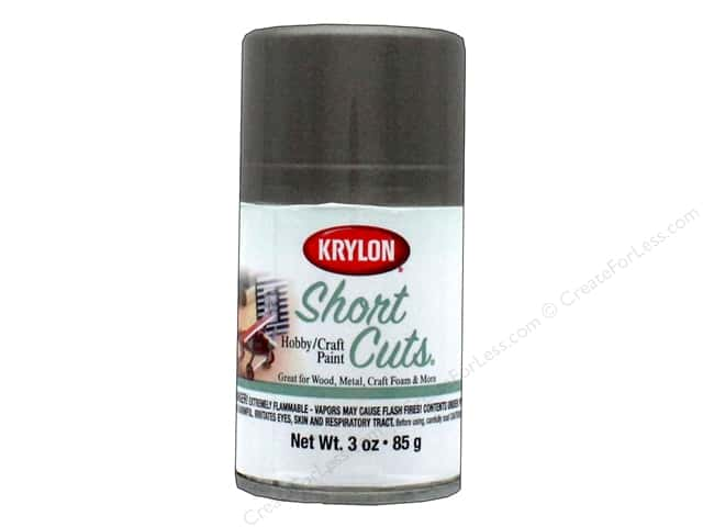 Krylon Shortcuts Aerosol Paints 3 oz. Antique Bronze