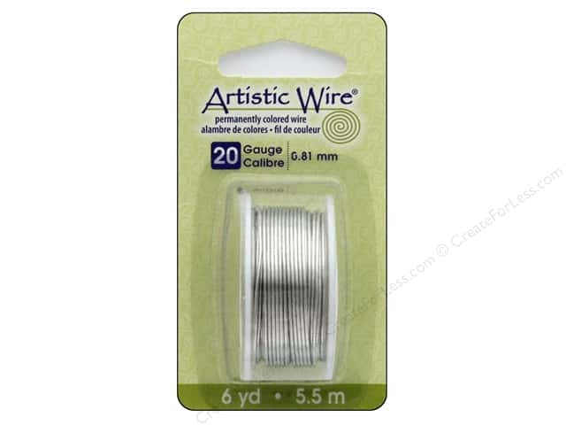 Artistic Wire 20 ga. Copper Wire 6 yd. Tinned