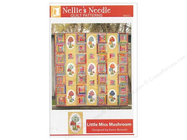 Nellie's Needle Little Miss Mushroom Pattern