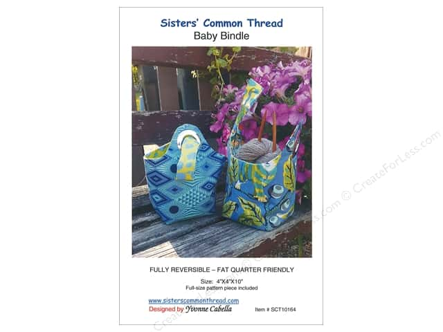 Sisters' Common Thread Baby Bindle Pattern