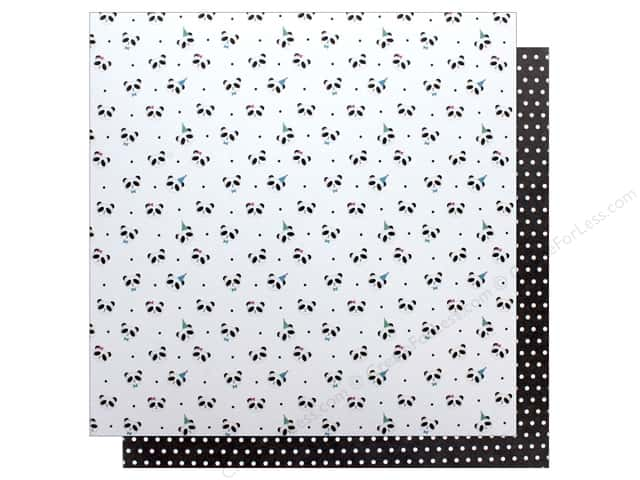 """Photo Play Collection CAKE Panda Party Paper 12""""x 12"""" Party Time (25 pieces)"""