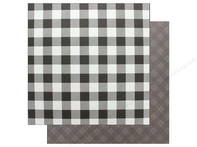 "Photo Play Collection Mad 4 Plaid Christmas Paper 12""x 12"" Solids Plus Grey (25 pieces)"