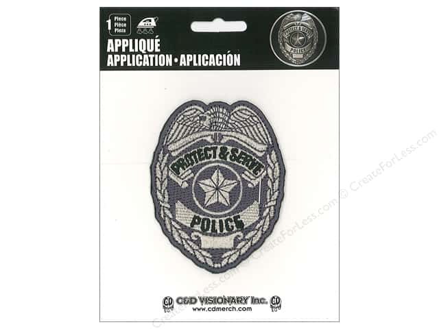 C&D Visionary Applique Policeman
