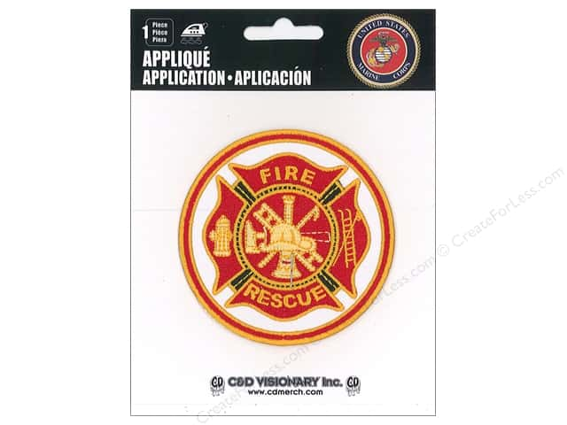 C&D Visionary Applique Fireman