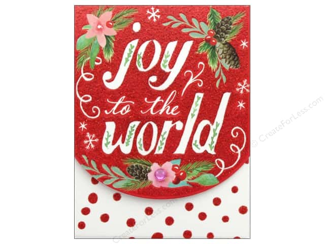 Molly & Rex Note Holiday Pocket Pad Joy To The World