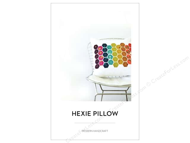 Modern Handcraft Hexie Pillow Pattern