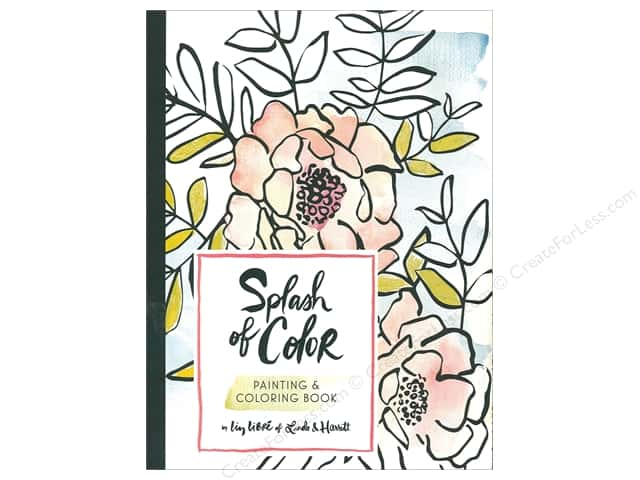 Splash of Color Coloring Book