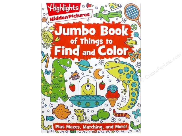 Highlights Jumbo Book of Things to Find & Color
