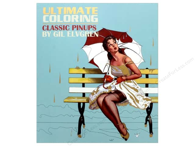 Classic Pinups Coloring Book