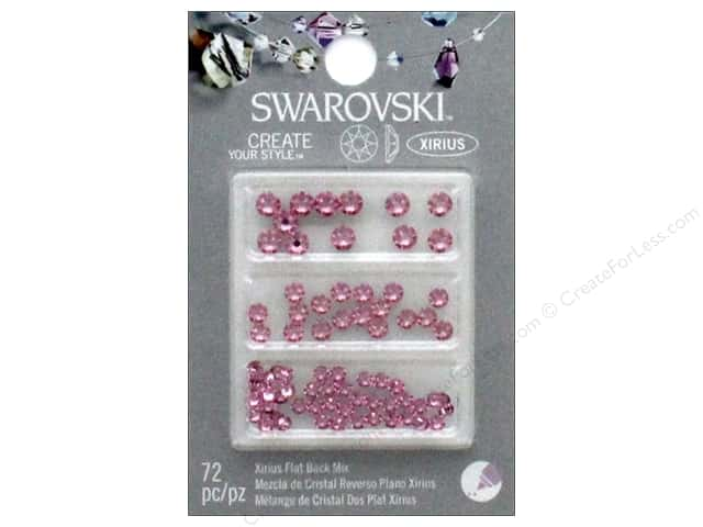 Cousin Swarovski Flatback Mix Baby Girl 72pc