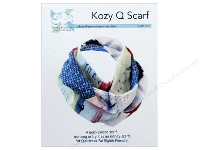 Seams Like A Dream Kozy Q Scarf Pattern