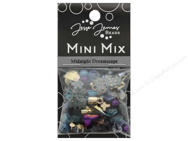 Jesse James Bead Mini Mix Midnight Dreamscape