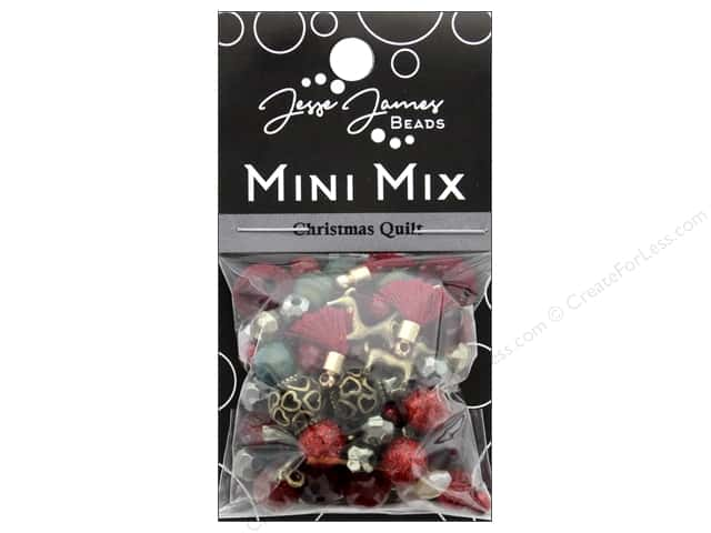 Jesse James Bead Mini Mix Christmas Quilt
