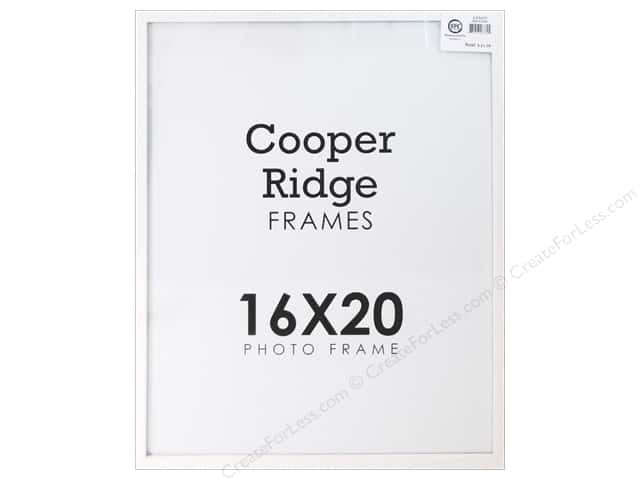Sierra Pacific Crafts Frame Wood With Hangers 16 in. x 20 in. White
