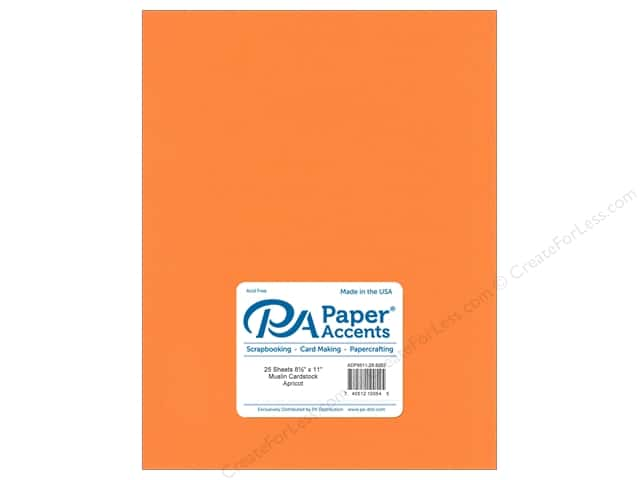 Paper Accents Cardstock 8 1/2 x 11 in. #8092 Muslin Apricot (25 sheets)
