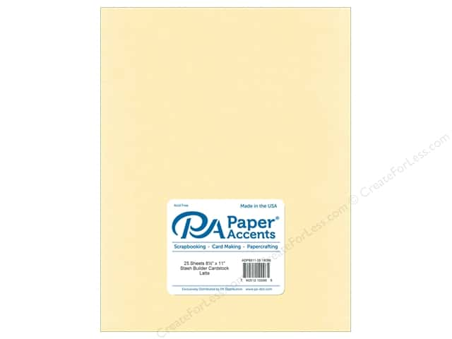 Paper Accents Cardstock 8 1/2 x 11 in. #18099 Stash Builder Latte (25 sheets)