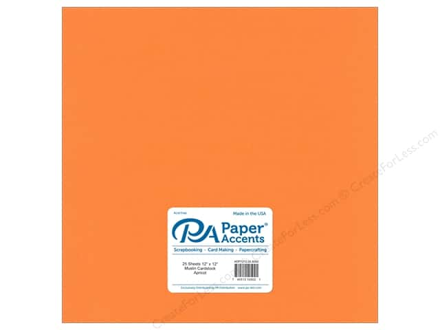Paper Accents Cardstock 12 x 12 in. #8092 Muslin Apricot (25 sheets)