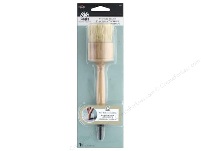 Plaid Tools Folkart Stencil Brush 1.5""
