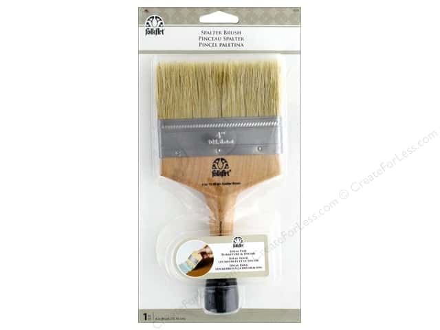 Plaid Folkart Spalter Brush 4 in.