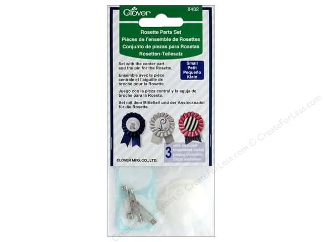 Clover Template Rosette Parts Set Small