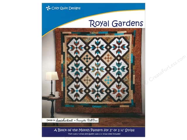 Cozy Quilt Designs Royal Gardens Pattern