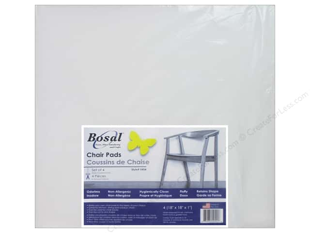 "Bosal Foam Chair Pad 18""x 18""x 1"" Square 4pc"