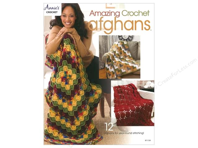 Annie's Amazing Crochet Afghans Book
