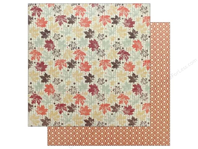"Authentique Collection Bountiful Paper 12"" x 12"" Two (25 pieces)"