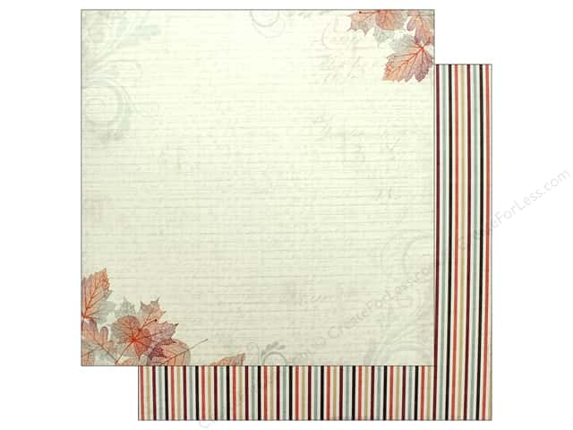 "Authentique Collection Bountiful Paper 12"" x 12"" Four (25 pieces)"