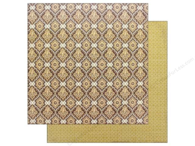 "Authentique Collection Bountiful Paper 12"" x 12"" Six (25 pieces)"