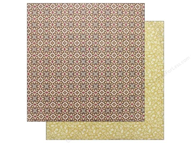 """Authentique Collection Bountiful Paper 12"""" x 12"""" Three (25 pieces)"""