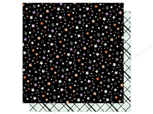 """American Crafts Collection BOOtiful Night Paper 12""""x 12"""" Fright Night (25 pieces)"""